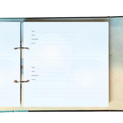 registerbladen voor condoleanceboek